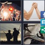 4 Pics 1 Word Level 3823 Answers