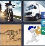 4 Pics 1 Word Level 4130 Answers