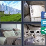 4 Pics 1 Word Level 4158 Answers