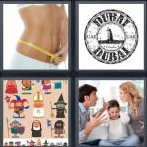 4 Pics 1 Word Level 4249 Answers