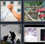 4 Pics 1 Word Level 4266 Answers