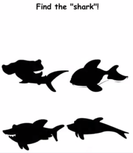 Brain Crack Find the shark Answers Puzzle