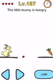Brain Out The little bunny is Answers Puzzle