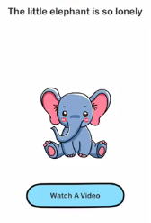 Brain Out The little elephant Answers Puzzle