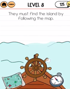Brain Test 2 Captain Mary Level 8 Answers Puzzle