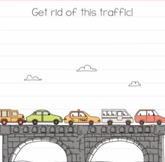 Brain Test Get rid of this traffic Answers Puzzle
