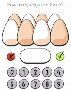 Brain Test How many eggs Answers Puzzle