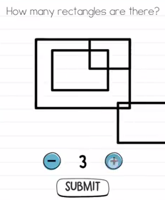 Brain Test How many rectangles Answers Puzzle
