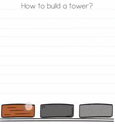 Brain Test How to build a tower Answers Puzzle