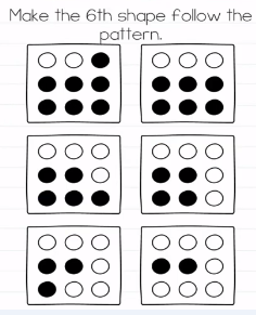 Brain Test Make the 6th shape Answers Puzzle