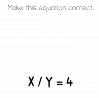 Brain Test Make this equation correct Answers Puzzle