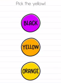 Brain Test Pick the yellow Answers Puzzle