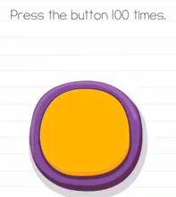 Brain Test Press the button 100 times Answers Puzzle