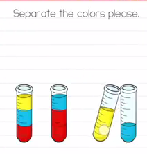 Brain Test Separate the colors Answers Puzzle
