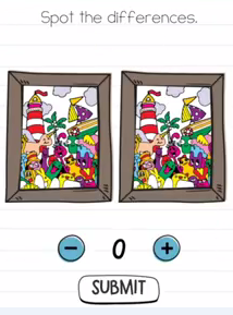 Brain Test Spot the differences Answers Puzzle