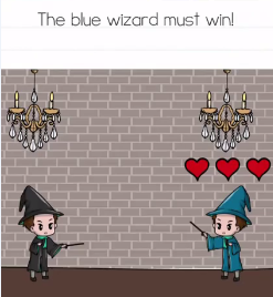 Brain Test The blue wizard Answers Puzzle
