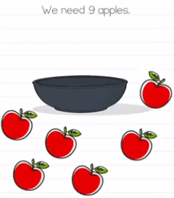 Brain Test We need 9 apples Answers Puzzle