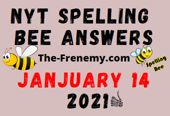Nyt Spelling Bee Answers January 14 2021 Daily