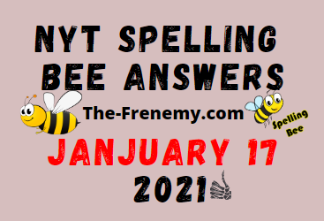 Nyt Spelling Bee January 17 2021 Answers