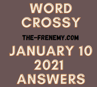Word Crossy January 10 2021 Answers Puzzle