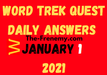 Word Trek Quest January 1 2021 Answers Puzzle