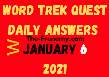 Word Trek Quest January 6 2021 Answers Puzzle