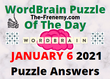 WordBrain Puzzle of the Day January 6 2021 Answers Daily