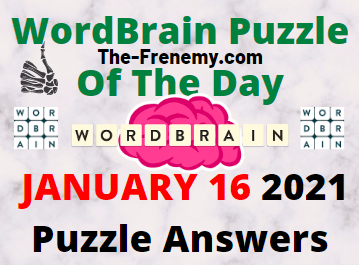 Wordbrain Puzzle of the Day January 16 2021