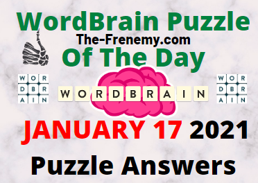 Wordbrain Puzzle of the Day January 17 2021 daily