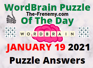 Wordbrain Puzzle of the Day January 19 2021 Answers Puzzle