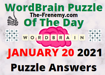 Wordbrain Puzzle of the Day January 20 2021 Answers