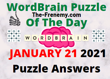 Wordbrain Puzzle of the Day January 21 2021 Answers