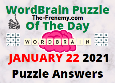 Wordbrain Puzzle of the Day January 22 2021 Answers