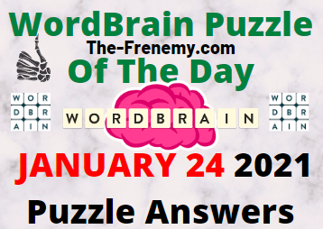 Wordbrain Puzzle of the Day January 24 2021 Answers