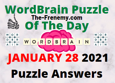 Wordbrain Puzzle of the Day January 28 2021