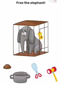 Brain Blow Free the elephant Answers Puzzle