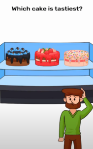 Brain Blow Which cake is tastiest Answers Puzzle