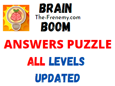 Brain Boom Answers All Levels Updated The Frenemy