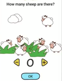 Brain Boom How many sheep are there 2 Answers Puzzle