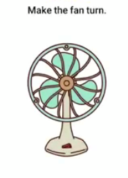 Brain Boom Make the fan turn Answers Puzzle