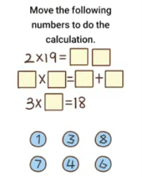Brain Boom Move the following Answers Puzzle