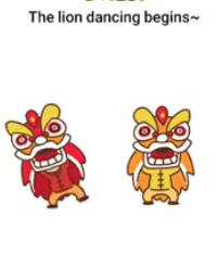 Brain Boom The lion dancing begins Answers Puzzle