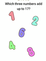 Brain Boom Which three numbers Answers Puzzle