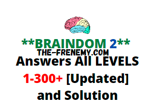 Braindom 2 Answers All Levels