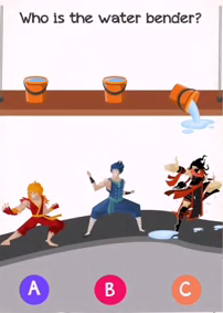 Braindom 2 Level 286 Who is the water bender Answers Puzzle
