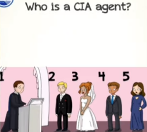 Braindom 2 Level 327 Who is a CIA agent Answers puzzle