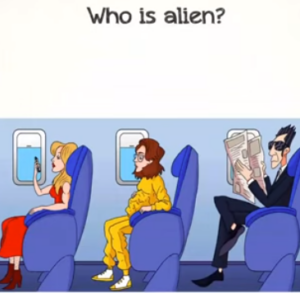 Braindom 2 Level 330 Who is alien Answers puzzle
