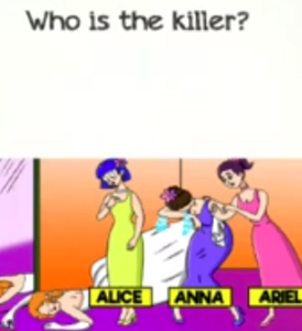 Braindom 2 Level 331 Who is the killer Answers puzzle