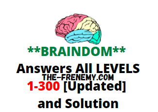 Braindom Answers All Levels