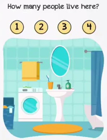 Braindom Level 163 How many people live here Answers Puzzle